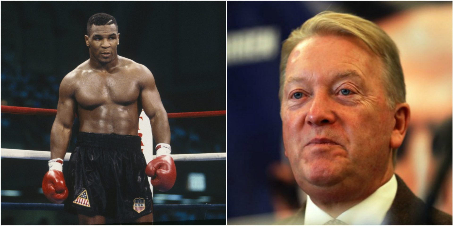 Mike Tyson doesn't make the cut in Frank Warren's list of top 10 greatest heavyweight boxers of all time - THE SPORTS ROOM
