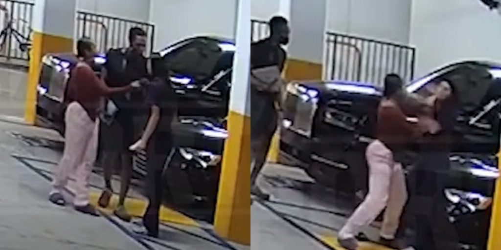 Rajon Rondo's girlfriend involved in an intense parking lot brawl with a woman - THE SPORTS ROOM