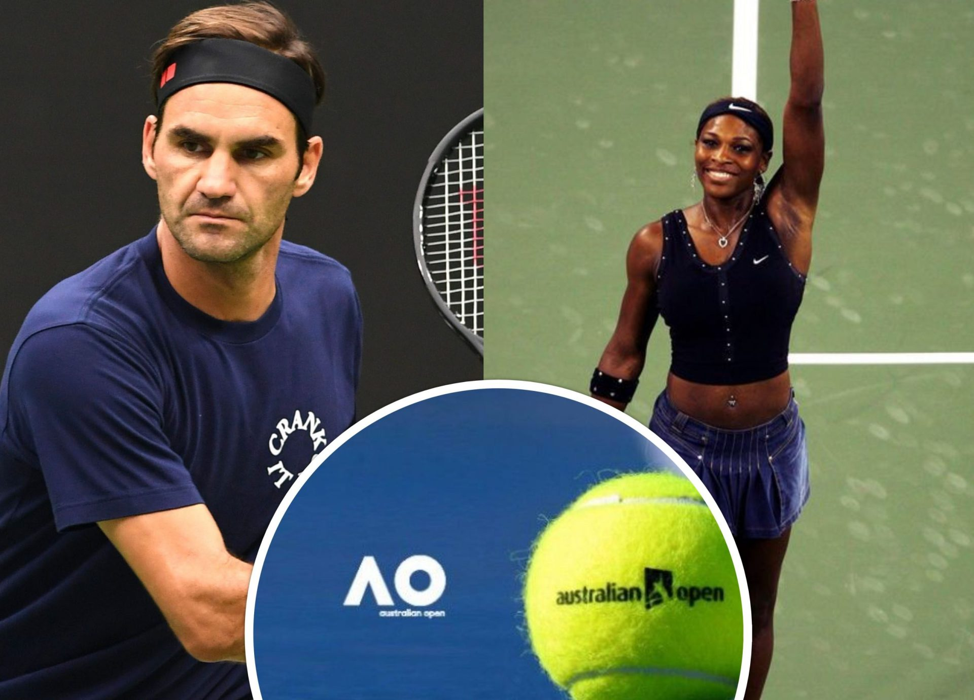 With love from Australia-Federer and Serena among entries for the Australian open - THE SPORTS ROOM