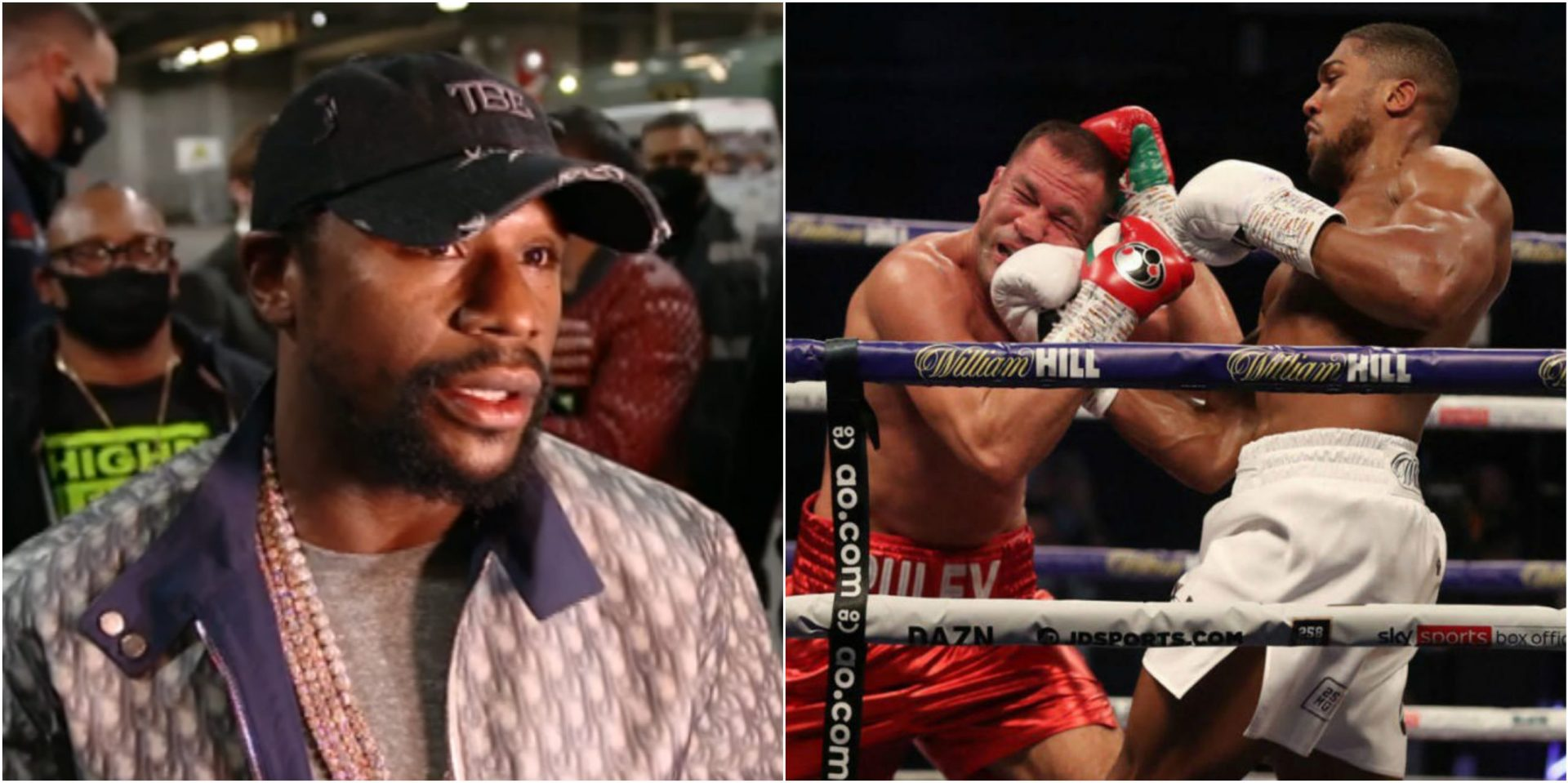 I Respect His Craft: Floyd Mayweather lauds Anthony Joshua following Kubrat Pulev win - THE SPORTS ROOM