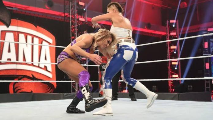Rhea Ripley reflects on her WrestleMania 36 defeat against Charlotte Flair - THE SPORTS ROOM