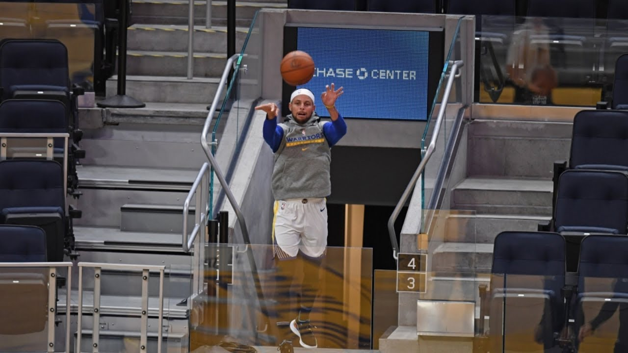 From the town beyond downtown: Steph Curry shows off outrageous shot from tunnel - THE SPORTS ROOM