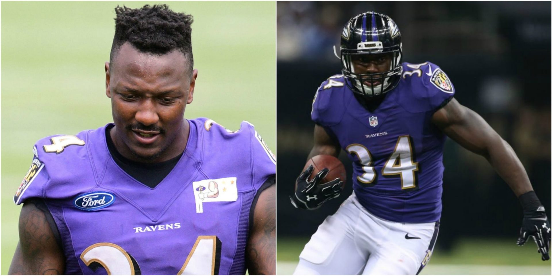 Former Ravens RB Lorenzo Taliaferro passes away due to heart attack at 28 years of age - THE SPORTS ROOM