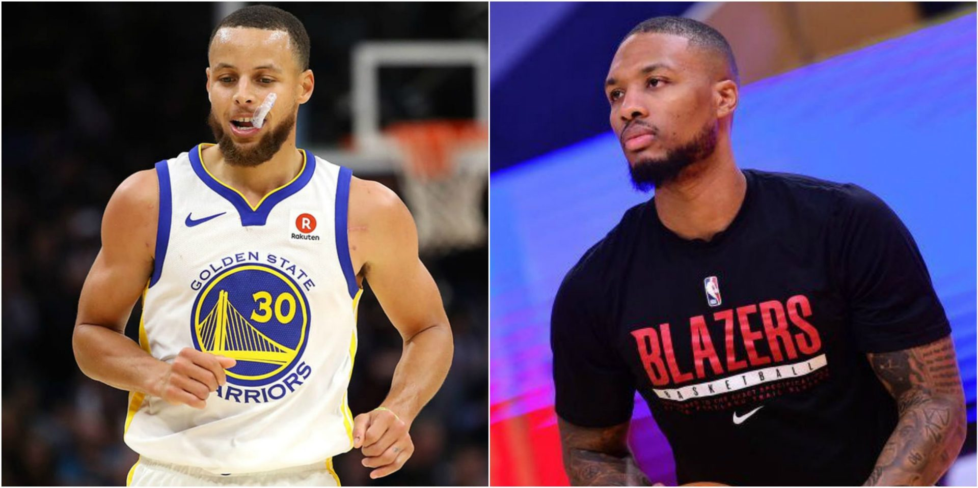Damian Lillard says Steph Curry looks 'different' compared to last 4-5 years - THE SPORTS ROOM