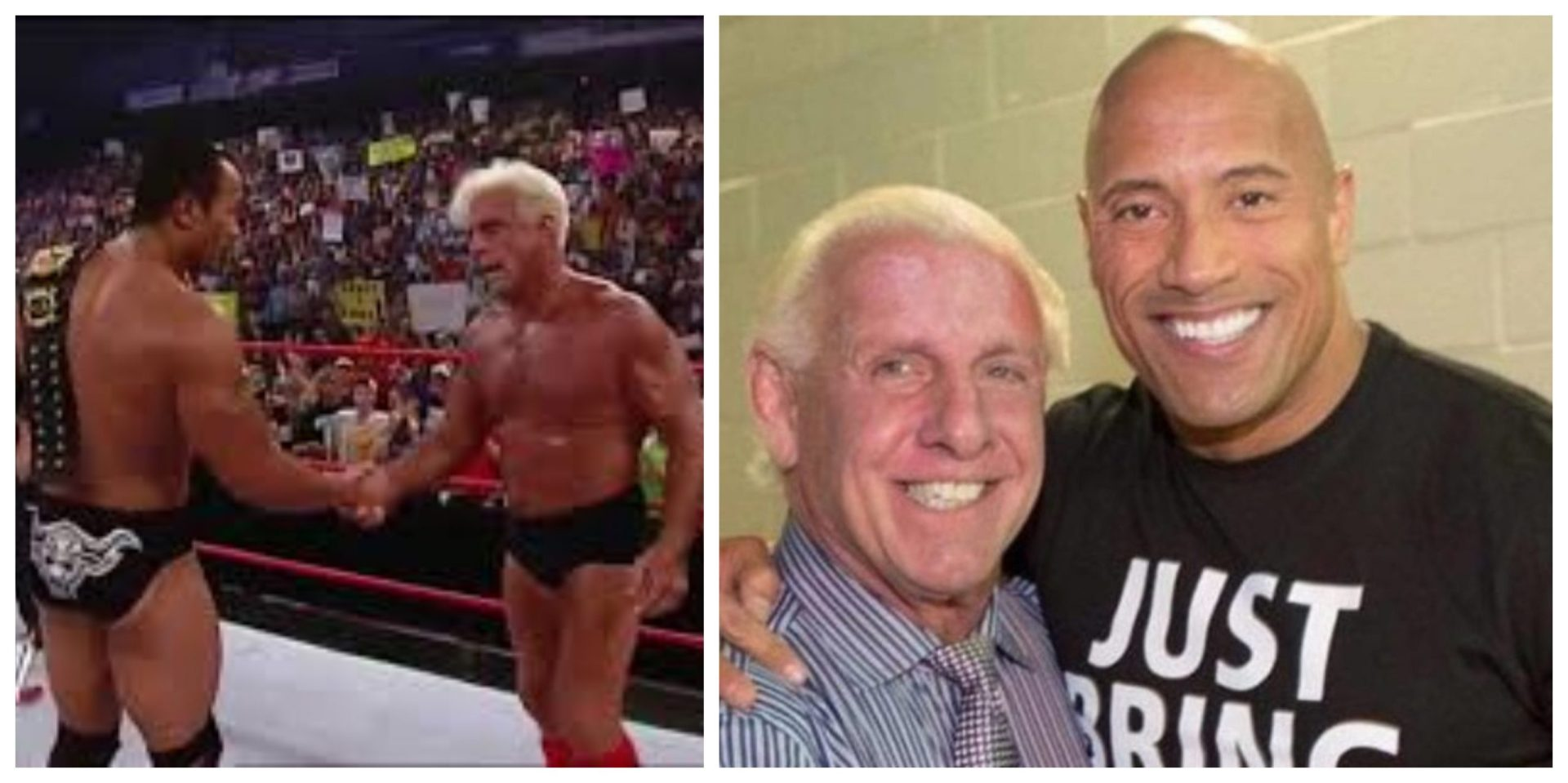 """They would've had to build new arenas"": Ric Flair feels a rivalry with The Rock would have shattered records - THE SPORTS ROOM"