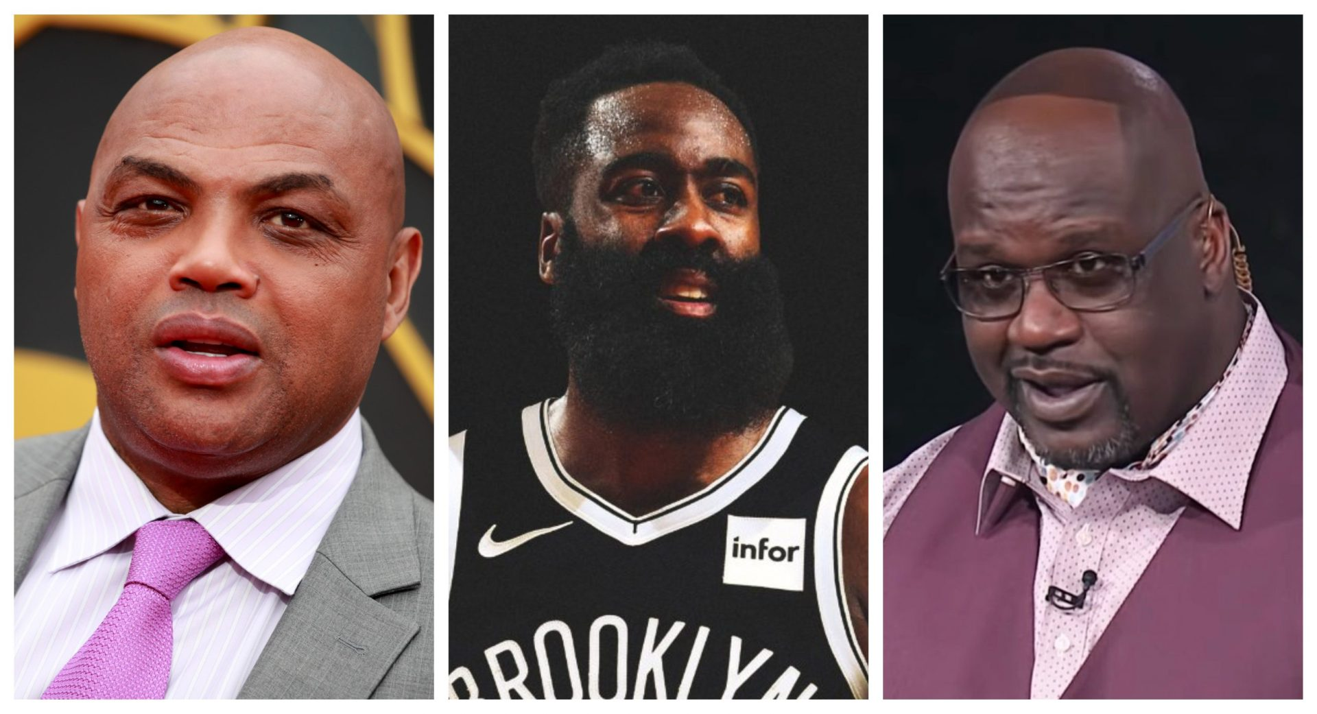 Shaq and Charles Barkley lay into James Harden following mega-deal to Nets - THE SPORTS ROOM