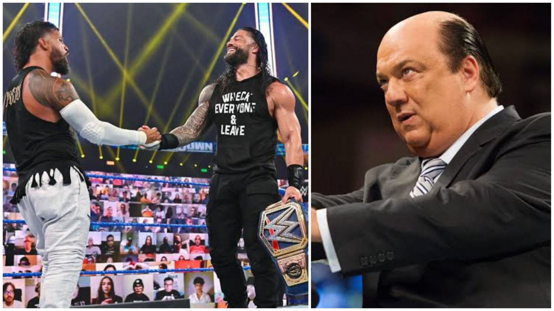 Paul Heyman hints at a new member being added to Reigns' entourage - THE SPORTS ROOM
