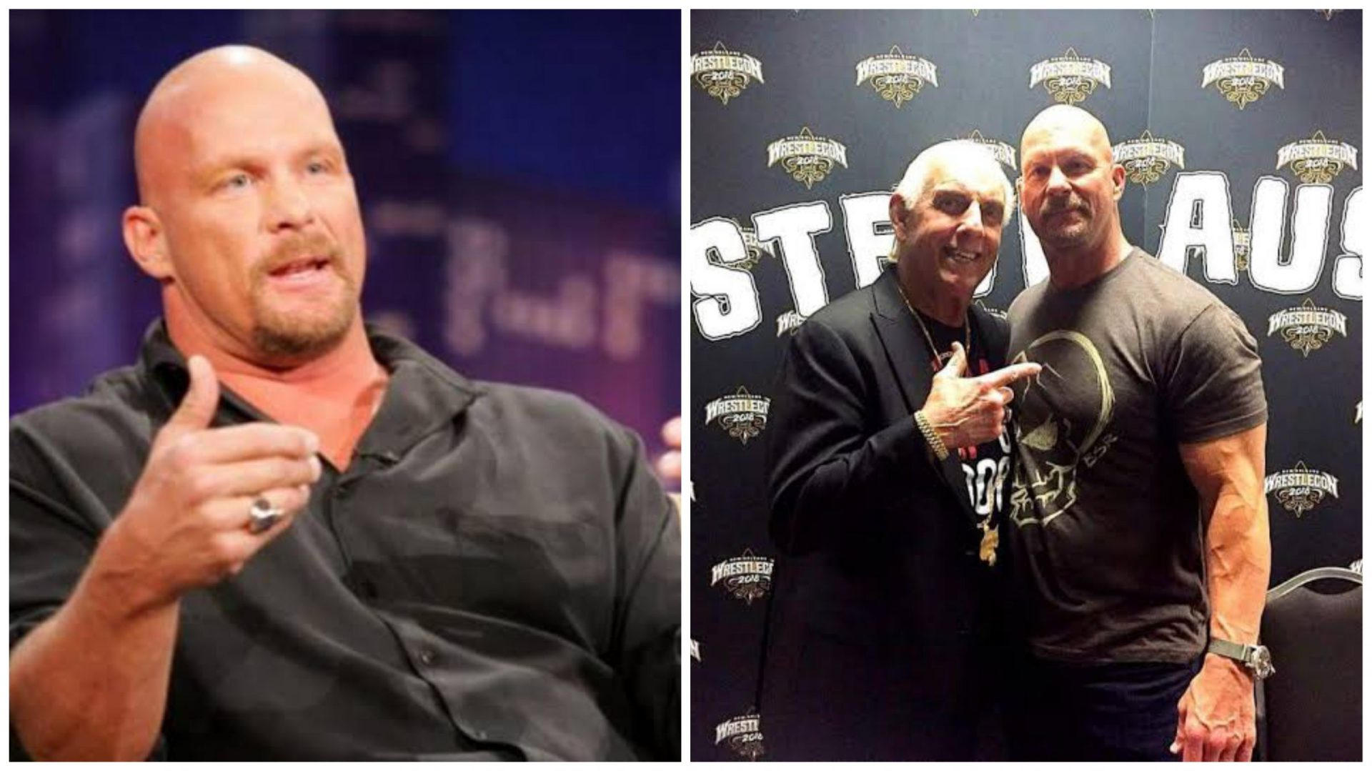 Ric Flair is the greatest of all time, says Steve Austin - THE SPORTS ROOM