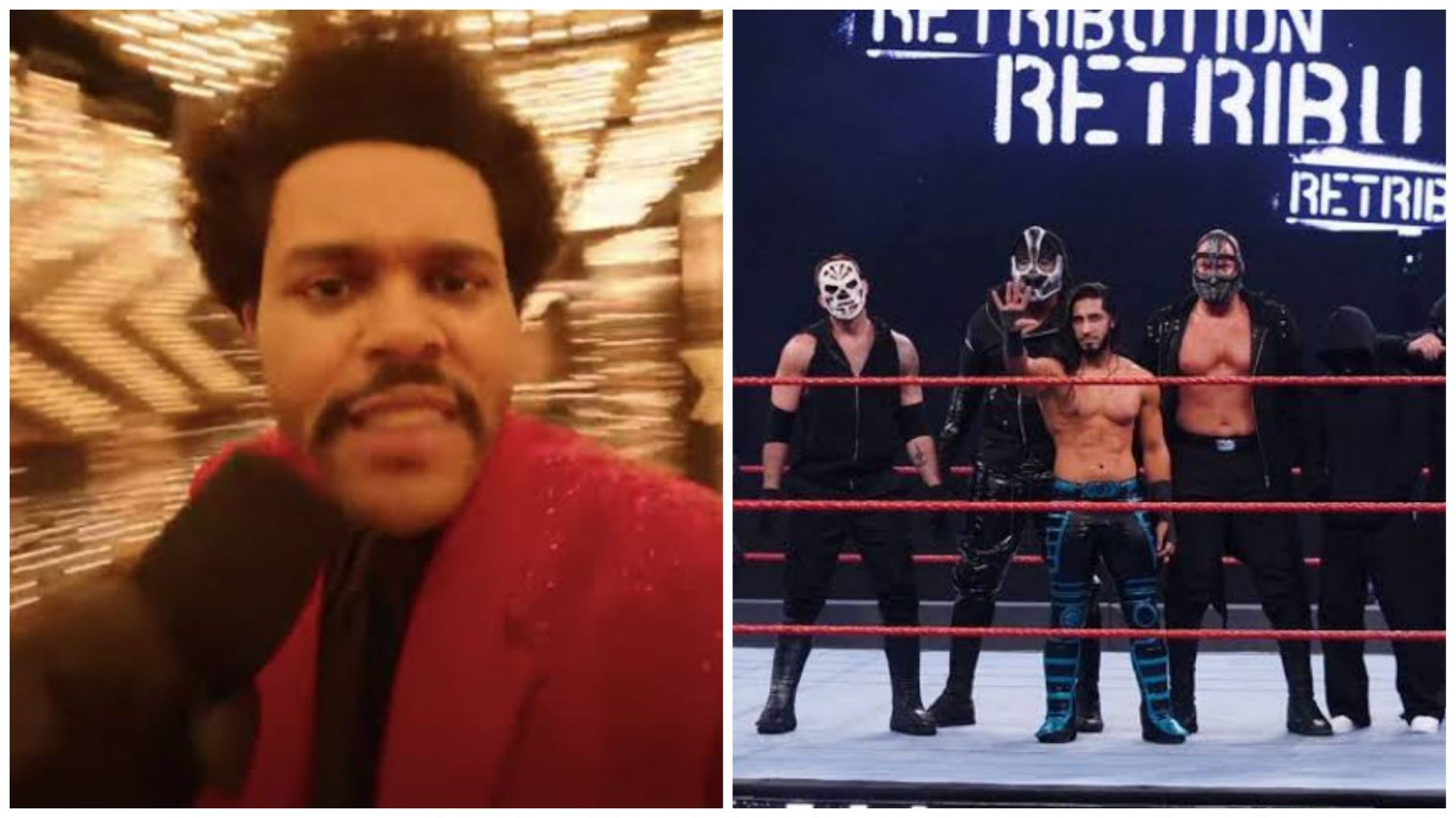 Retribution member Mace accuses The Weeknd of copying their gimmick during Super Bowl halftime show - THE SPORTS ROOM