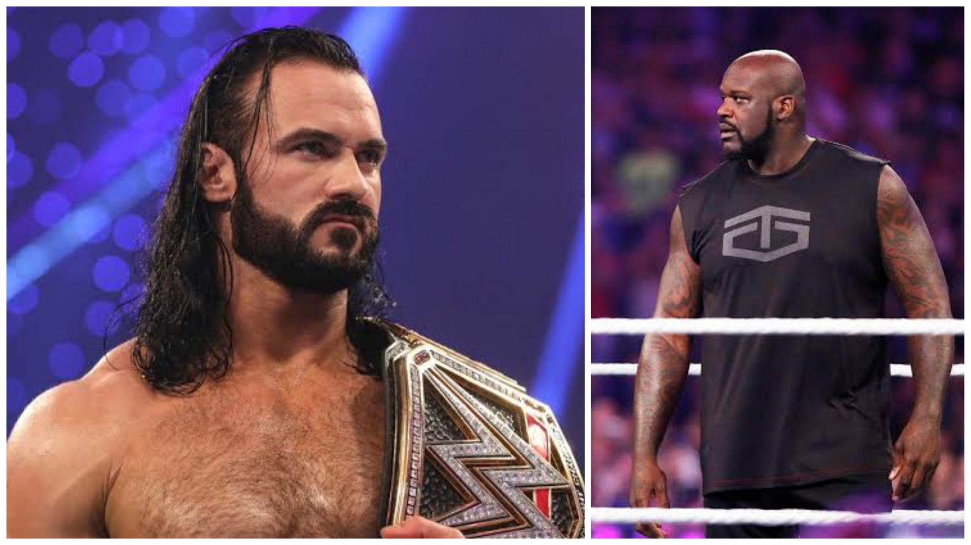 Shaquille O'Neal could have had success as a pro-wrestler, says Drew McIntyre - THE SPORTS ROOM