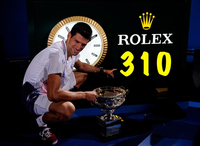 Djokovic just a day away from breaking Federer's incredible record - THE SPORTS ROOM