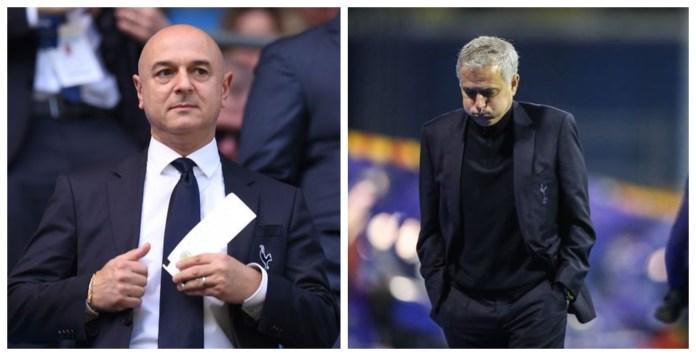 Jose Mourinho sacked by Tottenham Hotspur ahead of Carabao Cup Final