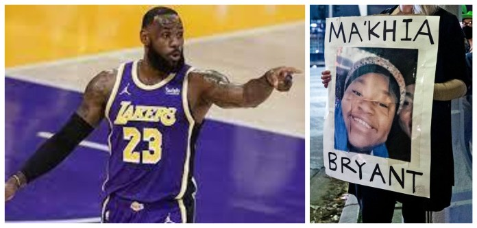 LeBron James provides an explanation on why he deleted the tweet on Ma'Khia Bryant's death