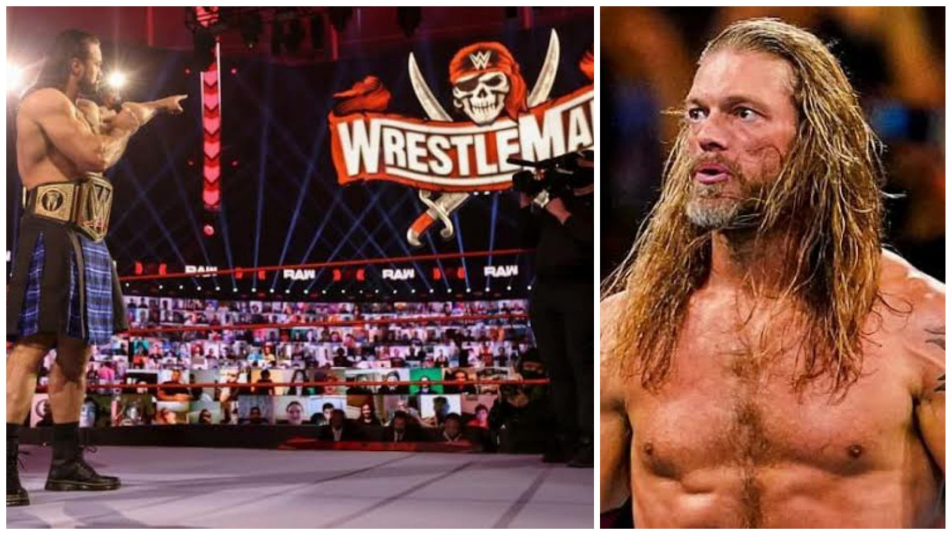 Edge speaks about the lack of crowd at WrestleMania 36 and how it affected the performers - THE SPORTS ROOM