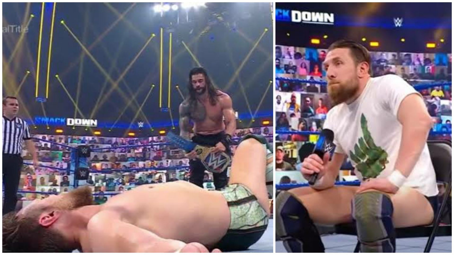 Daniel Bryan loses to Reigns, banished from Smackdown - THE SPORTS ROOM