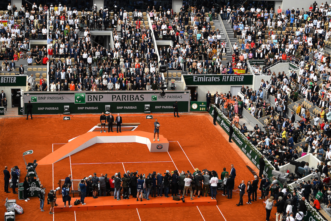 French Open 2021-A limit of 1000 fans to be imposed in Rolland Garros - THE SPORTS ROOM