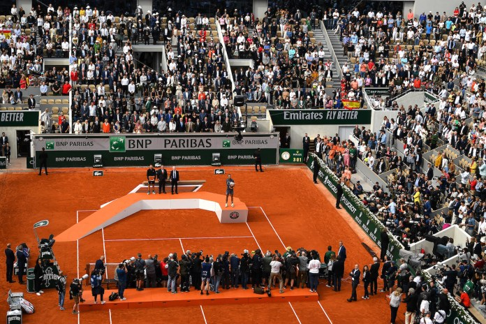 French Open 2021-A limit of 1000 fans to be imposed in Rolland Garros