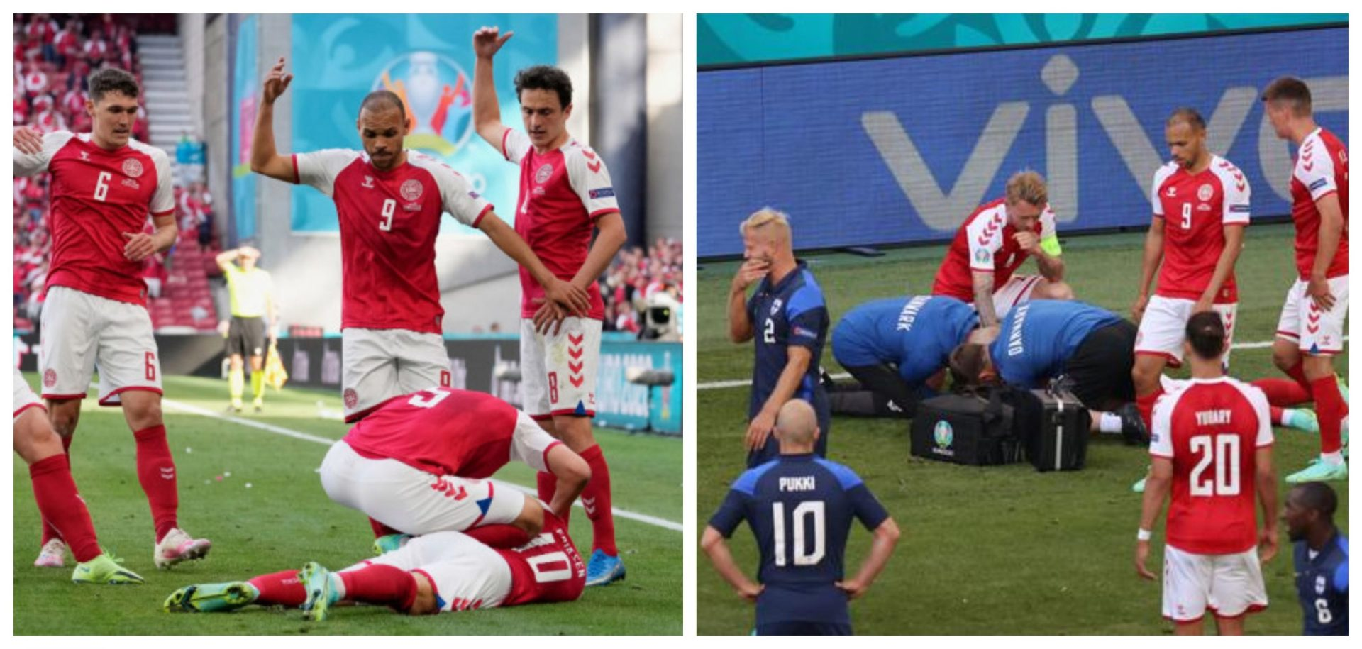 VIDEO: Denmark vs Finland suspended after Christian Eriksen collapses on field - THE SPORTS ROOM