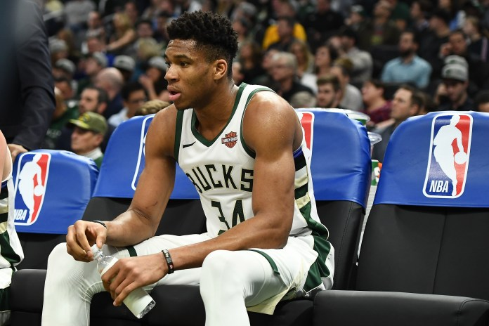 Giannis required doses of IV treatment to counter dehydration following Game 5