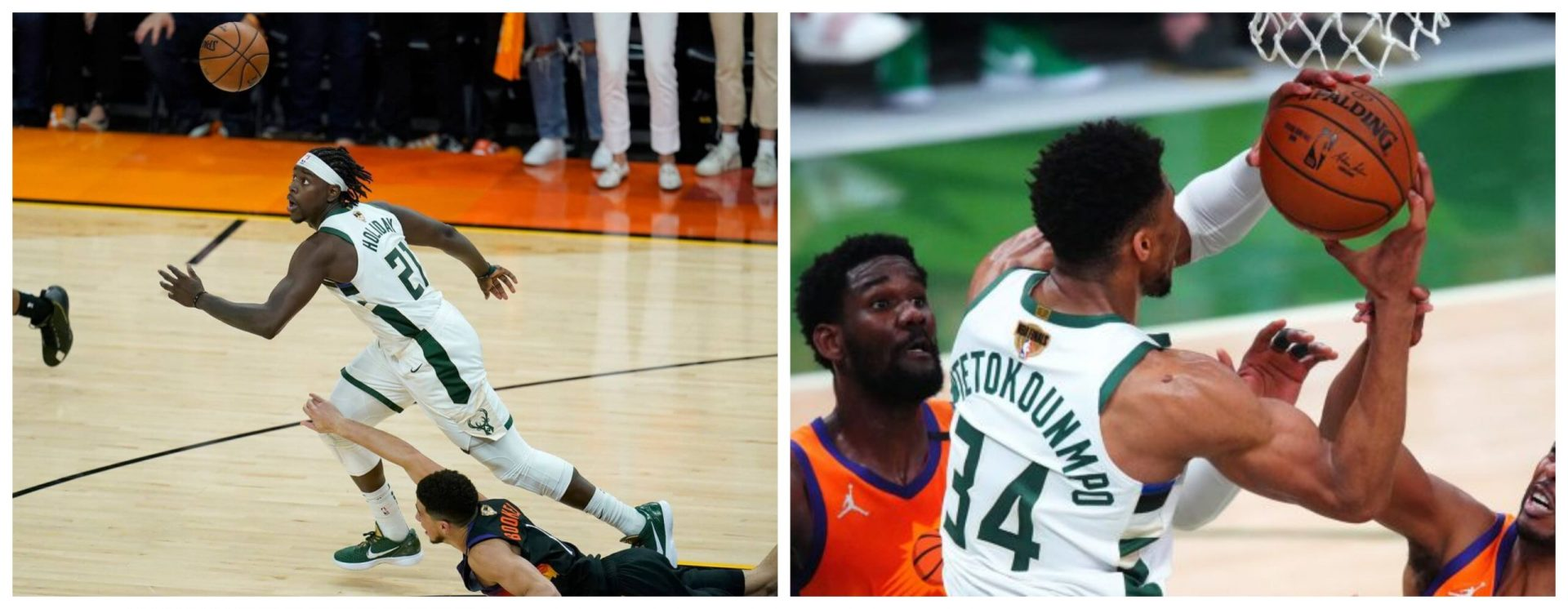 NBA Finals Review: Bucks survive a riveting topsy turvy contest to lead series 3-2 - THE SPORTS ROOM
