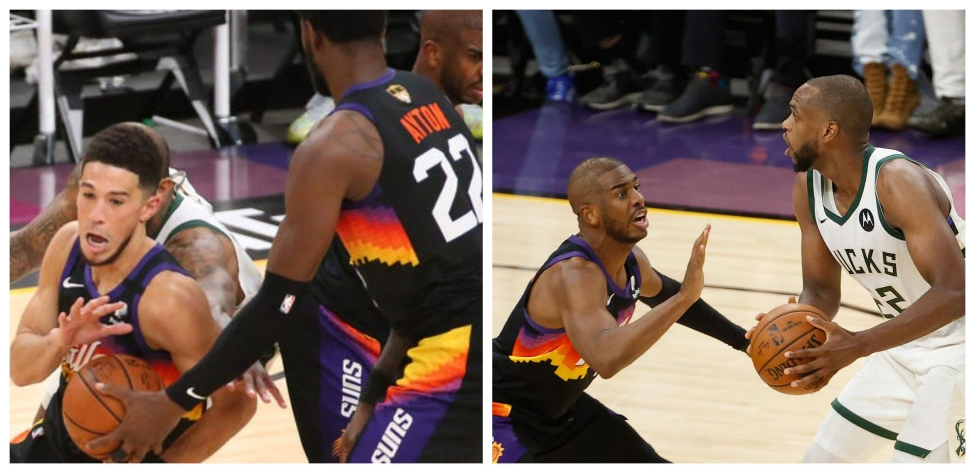NBA Finals Review: Suns drown out Giannis' heroics with raining 3's in Game 2 - THE SPORTS ROOM