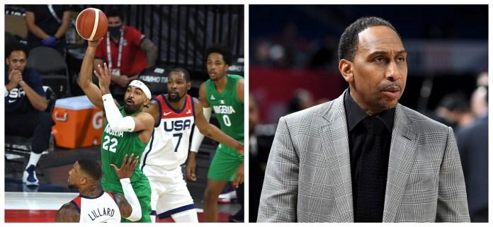 Team Nigeria slams Stephen A Smith over disrespecting segment