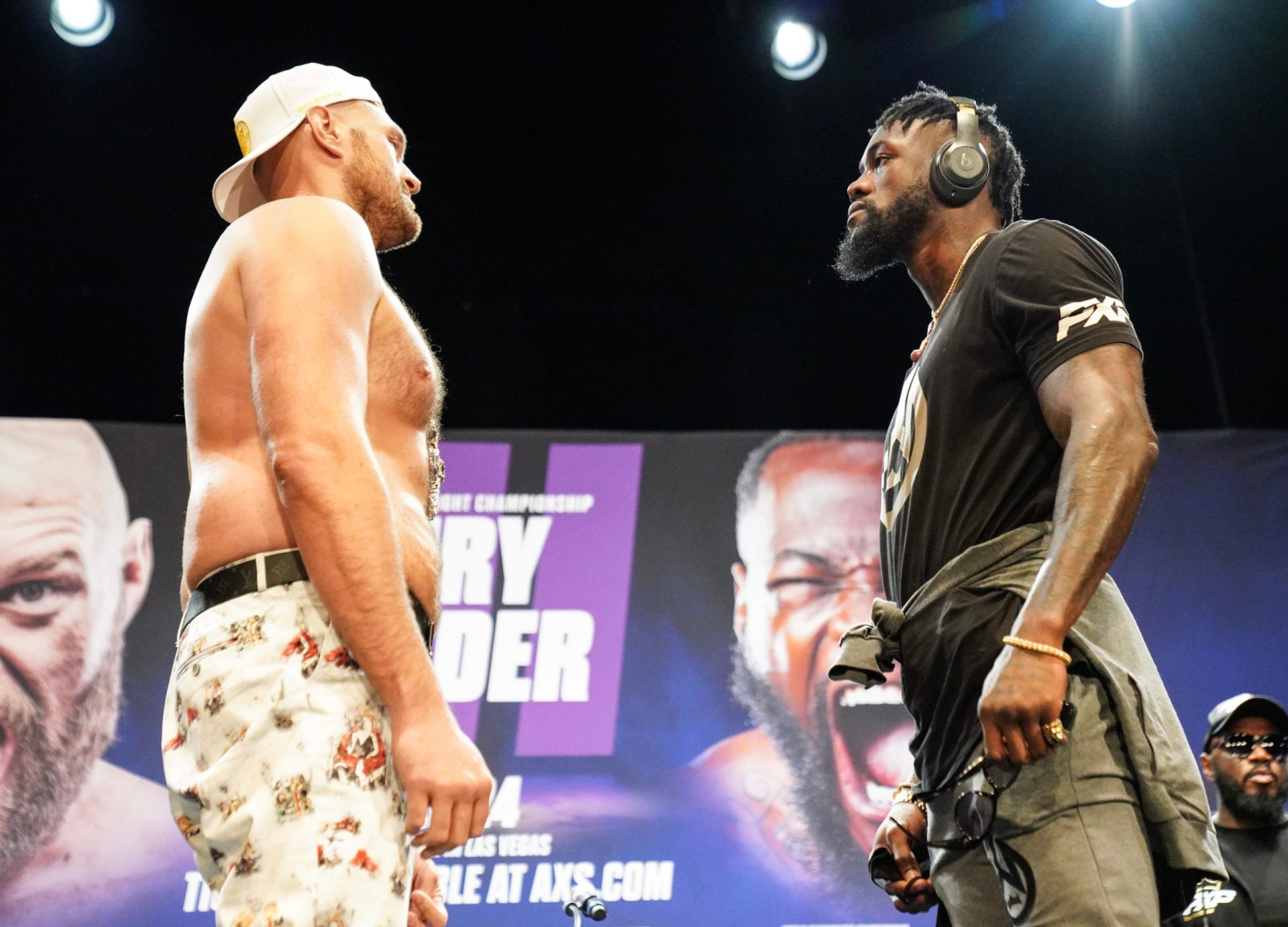 Fury-Wilder 3 set for Oct 9, Tyson Fury tests COVID-19 negative - THE SPORTS ROOM