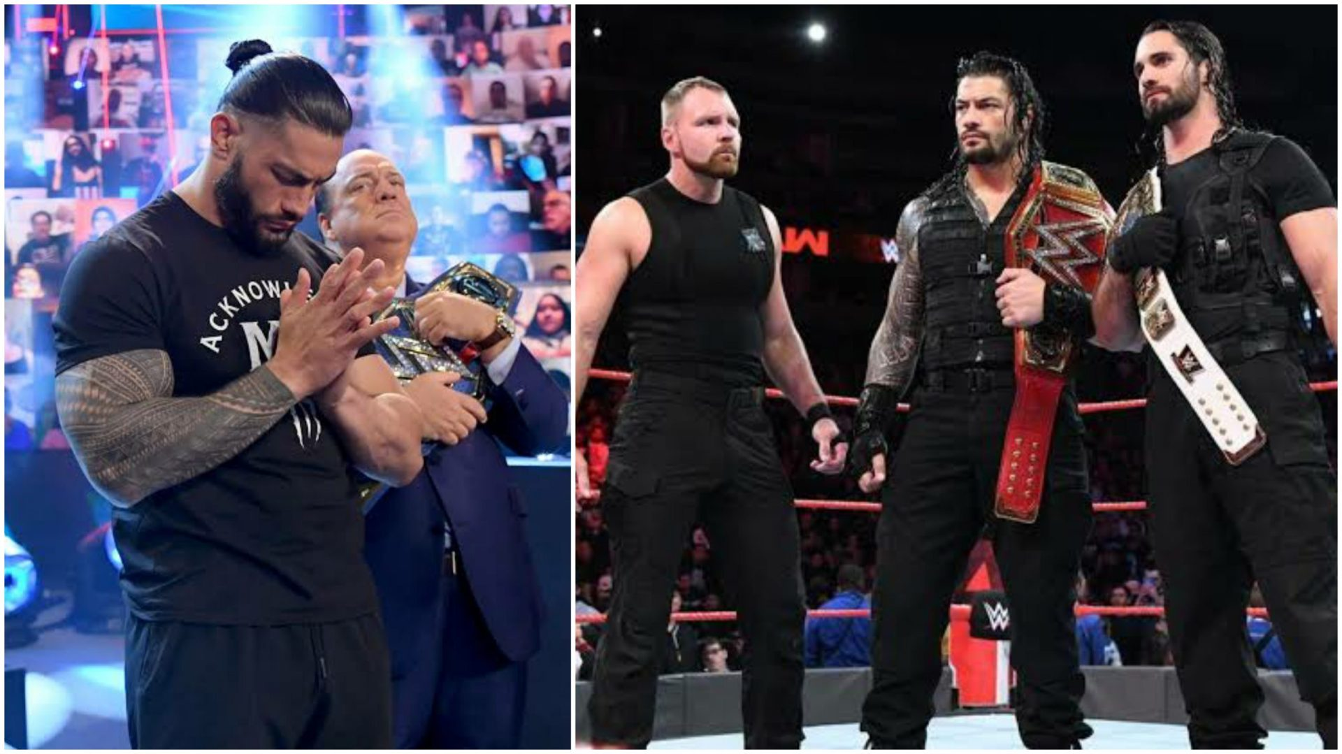 Roman Reigns voices disinterest in a Shield reunion - THE SPORTS ROOM