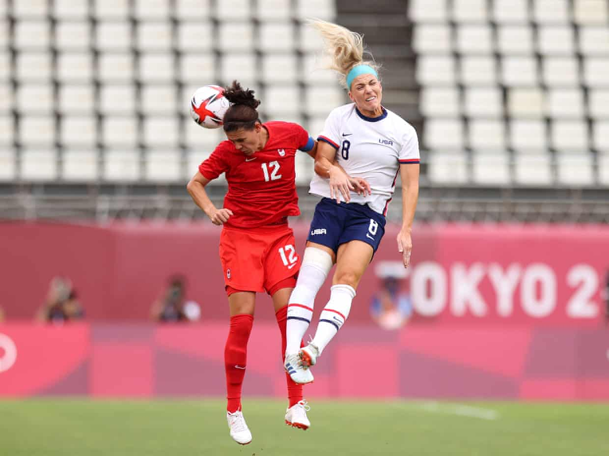 US women's soccer team loses to Canada 0-1 in 2021 Tokyo Olympics soccer semifinals - THE SPORTS ROOM