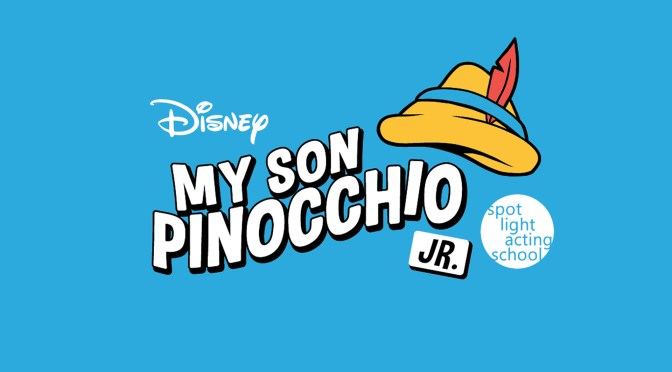 Disney's My Son Pinocchio JR. Spotlight Logo