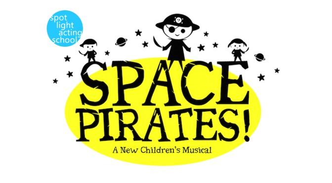 Space Pirates! Spotlight Logo