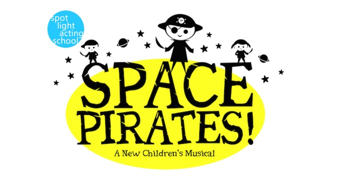 Space Pirates! Spotlight Logo