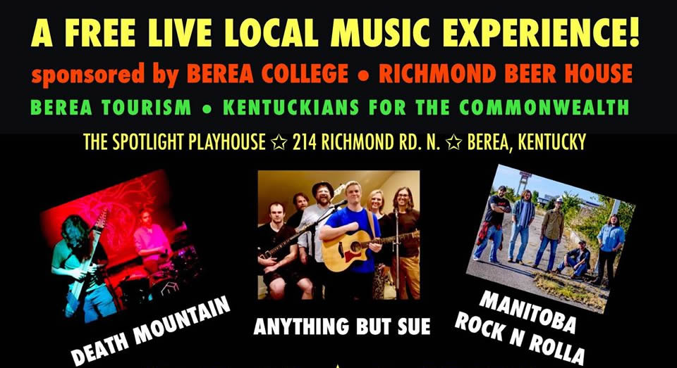 The  Electric Berea Winter Warm-Up Concert (Nov 22)