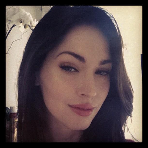 Megan Fox No Makeup Selfie Is Cool Way To Join Instagram