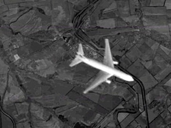 Russian photo of MH17