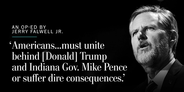 Jerry Falwell Jr Donald Trump
