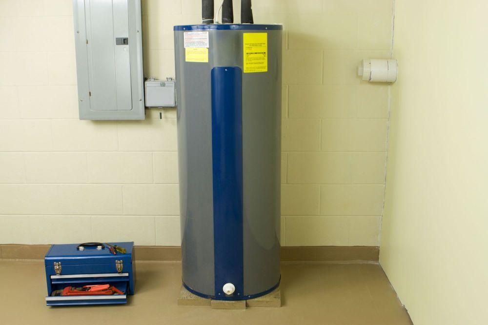 medium resolution of diagram of a water heater tank