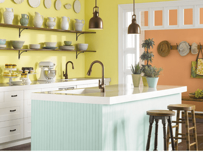 paint colors kitchen waste bins 26 ideas you can easily copy the 7 best need to try