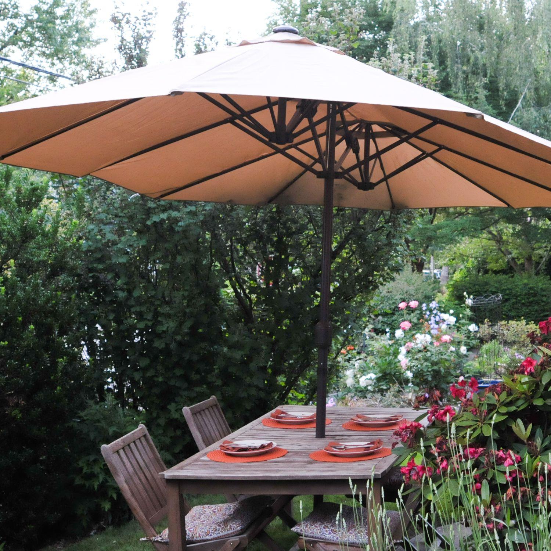 le papillon 15 ft market outdoor umbrella