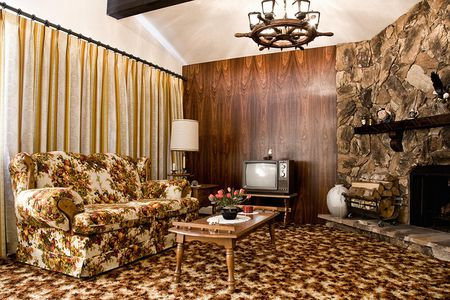 retro style living room furniture paint color for what is