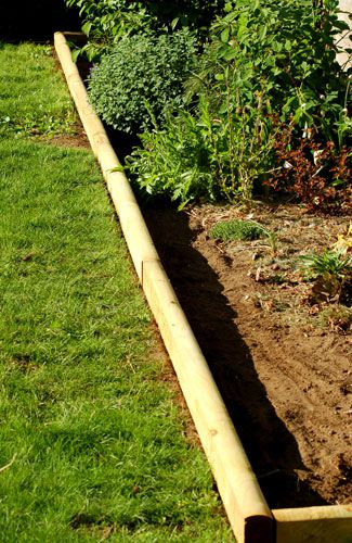 install landscape timber