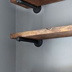 Kitchen Shelf Brackets Steel Table How To Select The Right Bracket For Your Open Shelving Pinterest