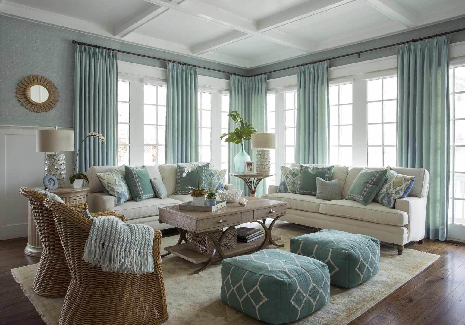 living rooms with blue and brown shabby chic room sofa ideas