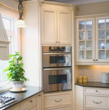 kitchen corner cabinet showroom solutions