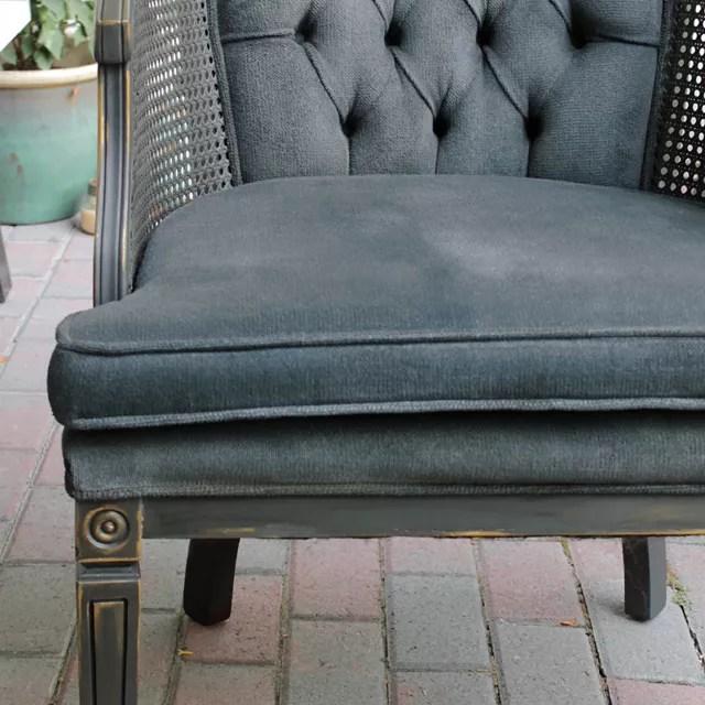 chalk paint accent chair