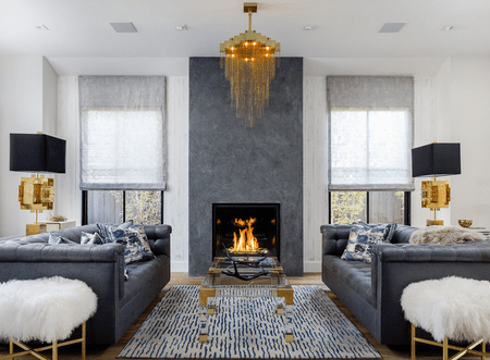 living room ideas with fireplace wall colours for images 20 beautiful rooms fireplaces glam artistic designs