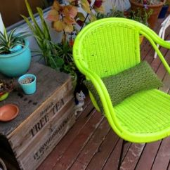 Patio Chairs For Cheap Bedroom Lounge Chair Ikea Sources Outdoor Furniture Vintage Painted Green