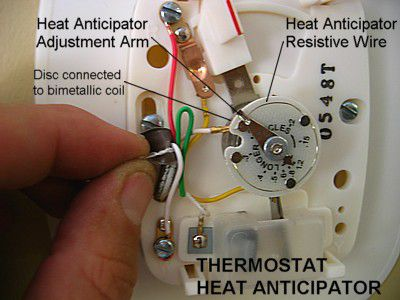 7 wire thermostat wiring diagram thermo king tripac apu heat anticipator adjustment