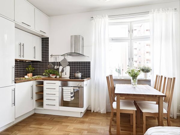 small space kitchen 10 Space-Making Hacks for Small Kitchens