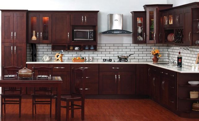 kitchen cabinet cost bobs furniture sets of cabinets examples vintage merlot